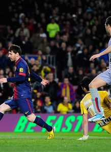 Four-star Messi in Barca cruise