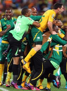 African Nations Cup: Hosts South Africa reach last eight after 2-2 draw with Morocco