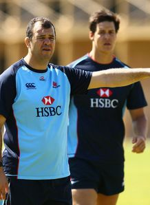 Michael Cheika Waratahs coach 2013