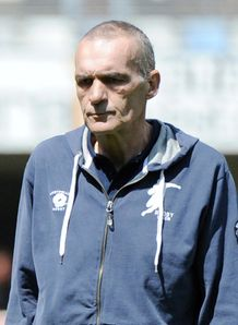 Montpellier s coach Eric Bechu