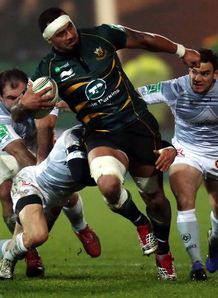 Northampton Saints action