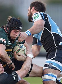 Northampton flanker Tom Wood held