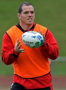 Paul James Wales RWC training 2011