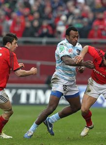 Munster v Racing Metro Sereli Bobo Doug Howlett Felix Jones
