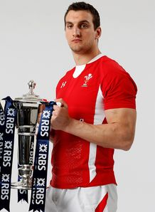 Sam Warburton Wales 2013