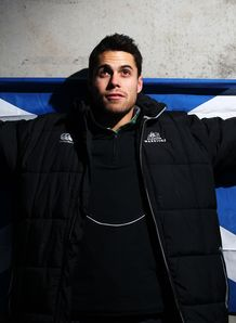 Sean Maitland Scotland flag