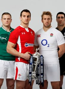 Six Nations captains picture at launch