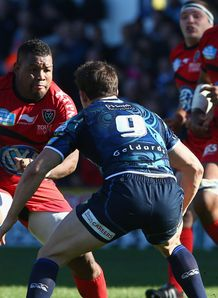 Steffon Armitage Lloyd Williams Toulon v Cardiff