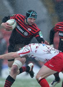 Steve Borthwick saracens v edinburgh