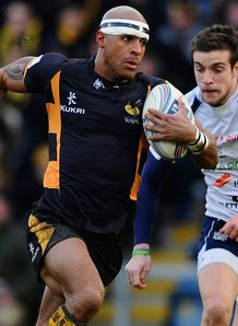 Tom Varndell London Wasps try