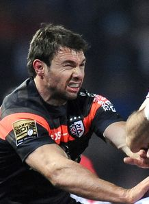 Toulouse s winger Vincent Clerc v BO