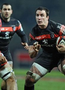Toulouses s number eight Louis Picamoles R v Biarritz