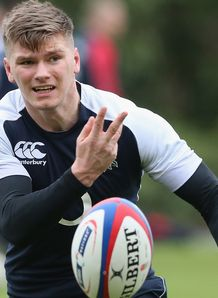 Owen Farrell England training