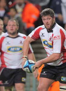 JC Janse van Rensburg lions