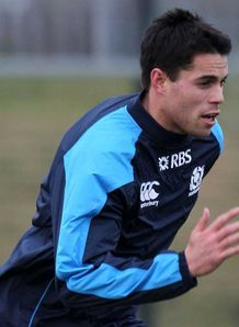 SKY_MOBILE Sean Maitland - Scotland training - 22/1/13