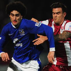 Fellaini: Won't be messed around