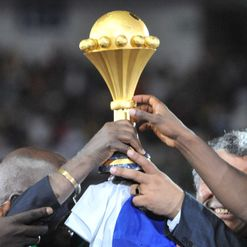 The coveted AFCON trophy