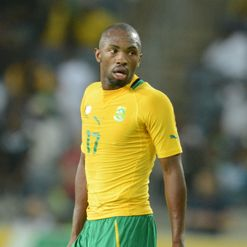 Parker: On duty with Bafana