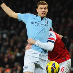 Dzeko: Tipped with City exit
