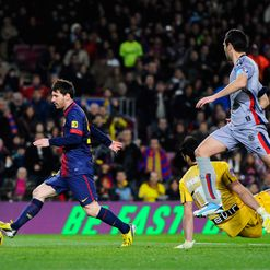 Messi: Goal-scoring machine
