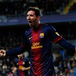 Messi: Wraps up the win