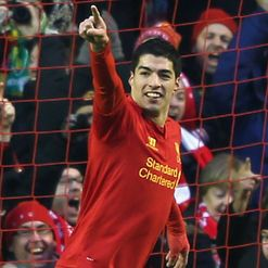 Suarez: Leading the line