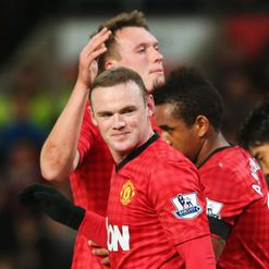 Rooney: Bags a brace