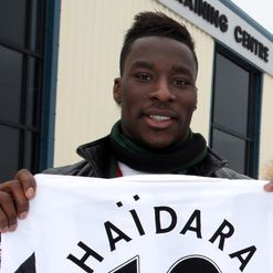 Haidara: Happy with move