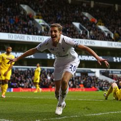 Dawson: Equalises for Spurs
