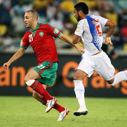Amrabat: Won't back down from a challenge