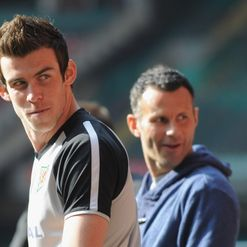 Bale & Giggs: Friends, sometimes