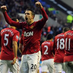 Van Persie: Delighted