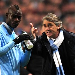 Balotelli &amp; Mancini: Fight club