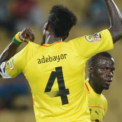 Adebayor: Opened his AFCON account