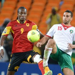 Manucho: In action v Morocco