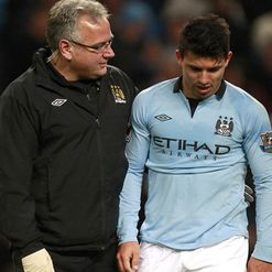 Sergio Aguero: Staying positive