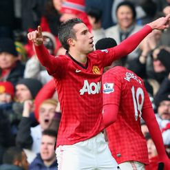 RVP: Loving life at Old Trafford
