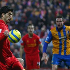 Suarez: Accidental hand ball?
