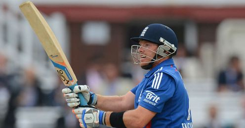 Ian Bell England v South Africa fifth ODI 2012