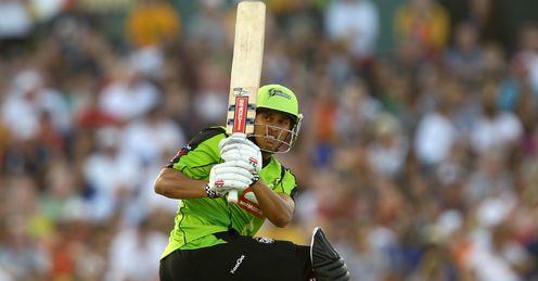 Usman Khawaja Sydney Thunder v Sydney Sixers Big Bash League WACA
