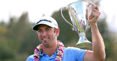 Dustin Johnson: Winning start