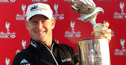 Donaldson: putted beautifully to win the Abu Dhabi Golf Championship, says Rob