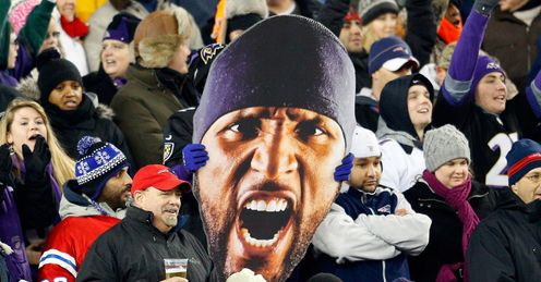 Ravens: fans are outnumbering their opponents