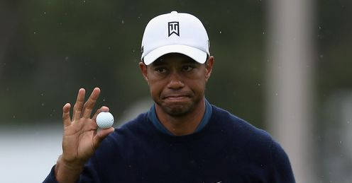 Woods: In familiar territory