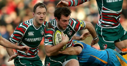 Andy Forsyth of Leicester Tigers