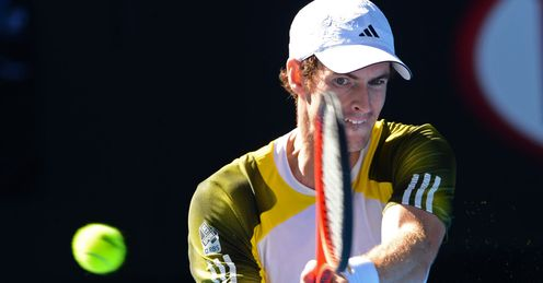 Andy Murray: safely through to the 12th grand slam semi-final of his career