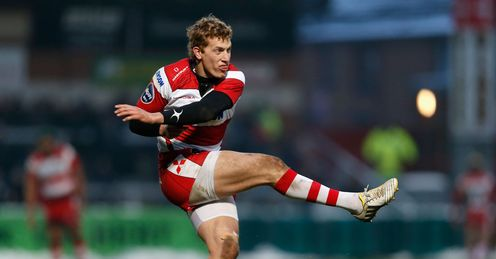 Billy Twelvetrees Gloucester v Mont de Marsan