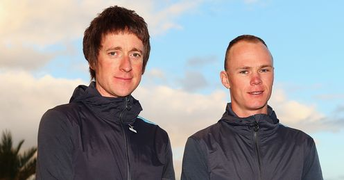 Wiggins and Froome: not best of friends, says Richard