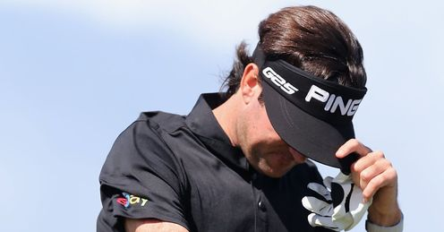 Bubba Watson: Under the weather
