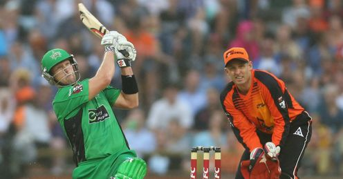 Cameron White Perth Scorchers v Melbourne Stars Big Bash semi-final WACA